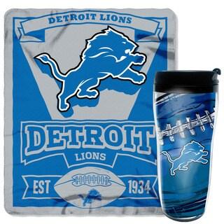 NFL Lions Mug N Snug Set
