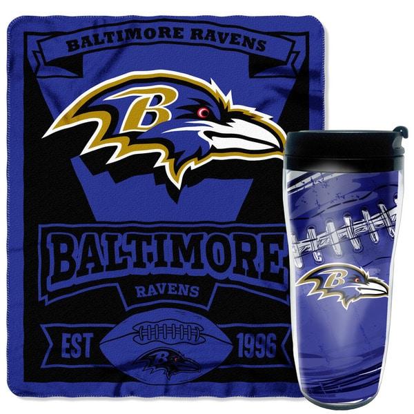 NFL Ravens Mug N Snug Set