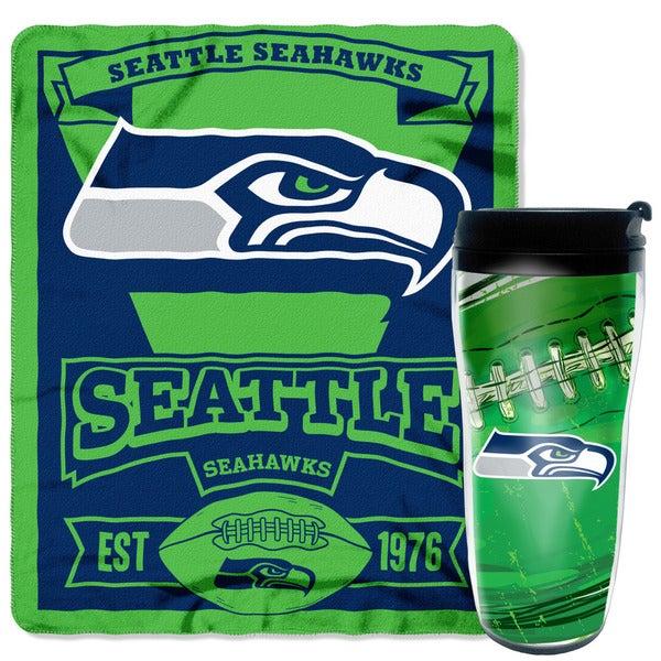 The Northwest Company NFL Seahawks Polyester Mug N Sung Set