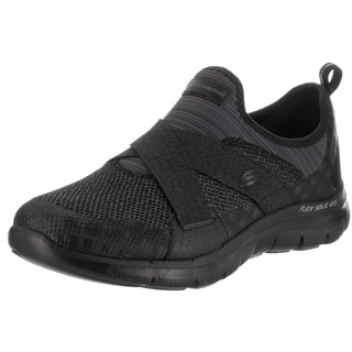 Women's Skechers Flex Appeal 2.0 New Image Walking Shoe Black