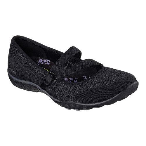 Women's Skechers Relaxed Fit Breathe Easy Lucky Lady Mary Jane Black - Free  Shipping Today - Overstock.com - 19091997