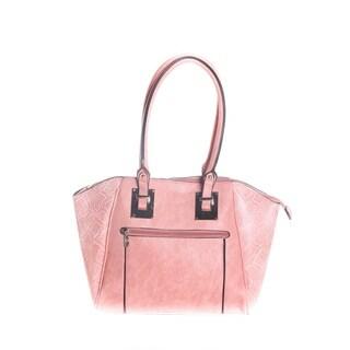 Hadari Women Shopper Bag With Long And Short Handel