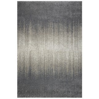 Style Haven Shades Ombre Grey/Light Grey Rug (5'3 x 7'6)