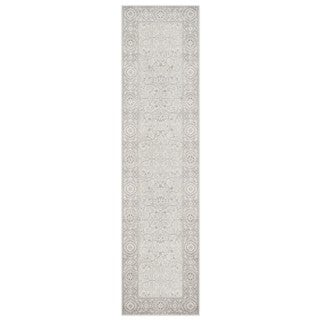 Vision Faded Traditional Grey/Ivory Rug (1'10 X 7'6)
