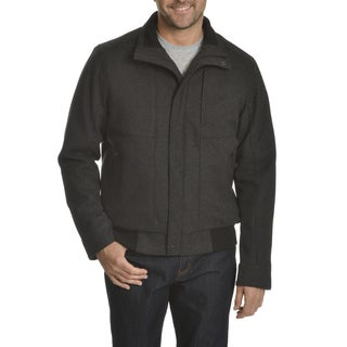 Tahari Men's Waterproof Wool Bomber