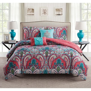 Porch & Den West Bench Ustick Reversible 5-Piece Comforter Set