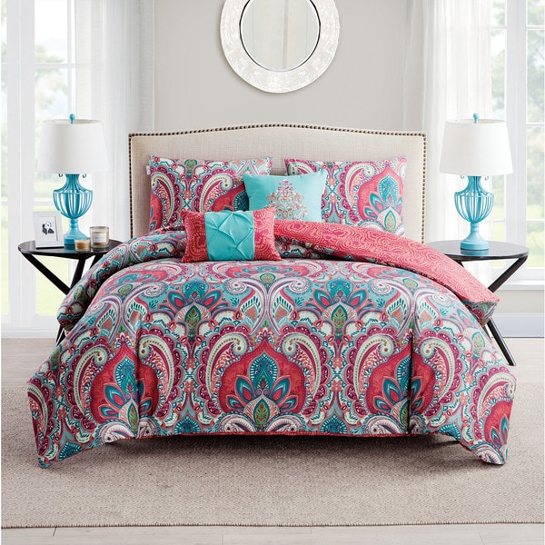 Porch & Den Lancelot Reversible 5-piece Duvet Cover Set