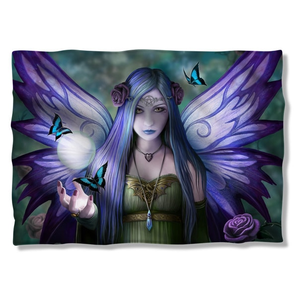 Anne Stokes/Mystic Aura (Front/Back Print) Pillow Case in White