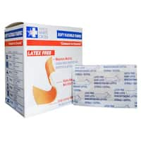 American White Cross MS-26140 Latex-free Soft Flexible Fabric 1.5-inch x 3-inch Adhesive Bandage