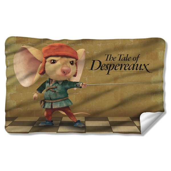 Tale Of Despereaux/On Guard Fleece Blanket