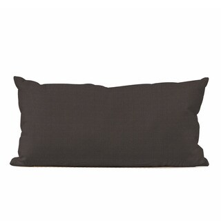 Seascape Charcoal Kidney Pillow