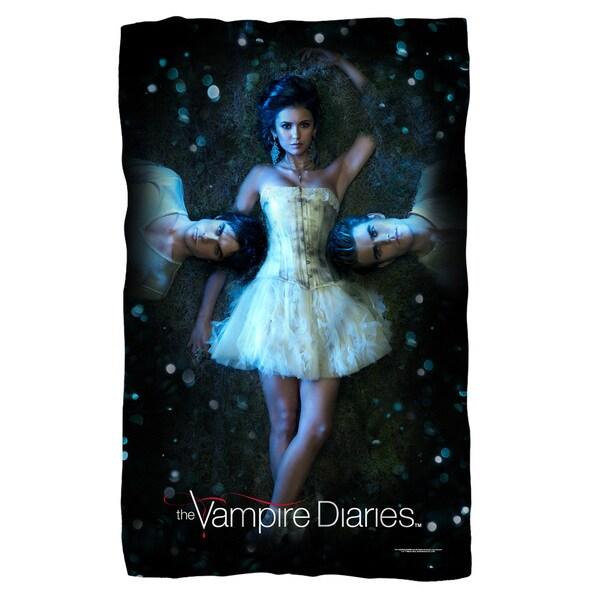 Vampire Diaries/Why Choose Fleece Blanket in White