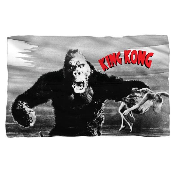 King Kong/Kong and Ann Fleece Blanket in White