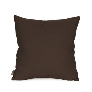 "Seascape Chocolate 16"""" x 16"""" Pillow"
