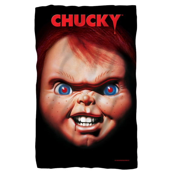 Childs Play 3/Poster Fleece Blanket in White