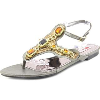 Two Lips Women's 'ZBreezy' Faux Leather Sandals