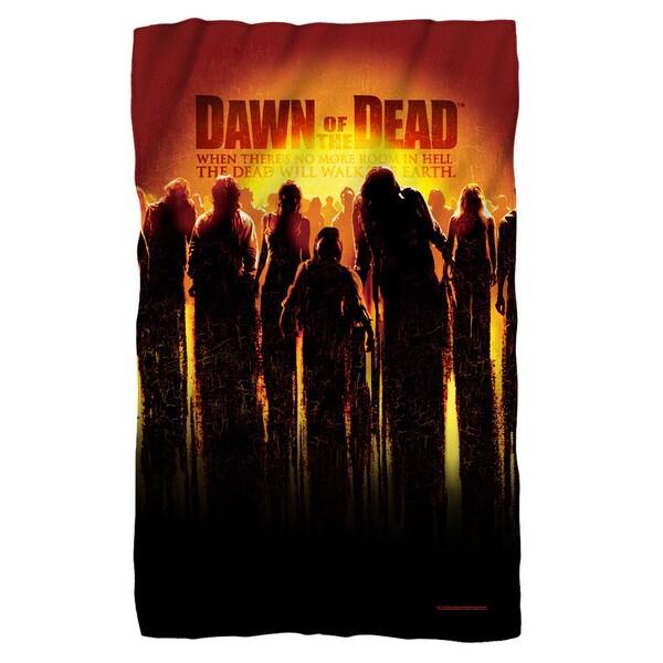 Dawn Of The Dead/Dead Fleece Blanket in White