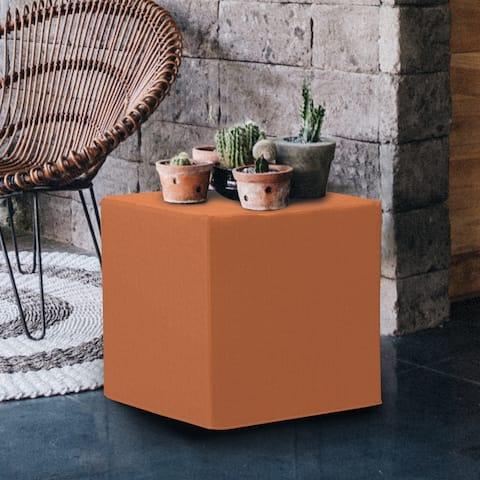 No Tip Seascape Canyon Foam/Acrylic Block Ottoman