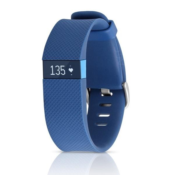 Shop Fitbit Charge HR, Pink, Large - Free Shipping Today