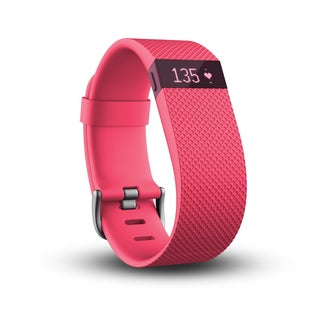 Fitbit Charge HR, Pink, Large