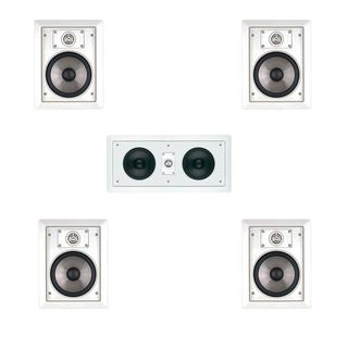 JBL SP6II 5.0 Surround Sound In-wall Speakers with HTi55 Center