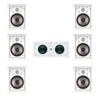 JBL SP6II 7.0 Surround Sound In-wall Speakers with HTi55 Center