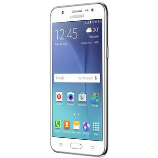 Samsung Galaxy J7 SM- J700H/DS White Android 5.1 GSM Factory Unlocked Smartphone