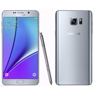 Samsung Galaxy Note 5 N920C Silver 32GB Factory Unlocked GSM International Smartphone