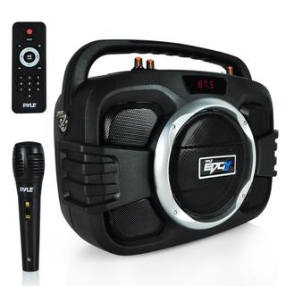 Pyle Bluetooth BoomBox Microphone & Speaker System