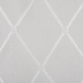 Madison Park Warner Iris Diamond Sheer Sidelight Curtain Panel