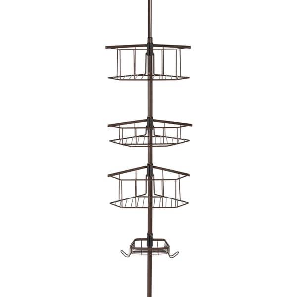 E-Bronze Laguna Tension Pole Shower Caddy