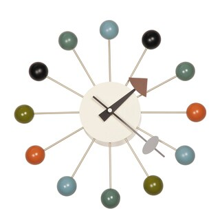 Nelson Inspired Ball Clock Multicolor