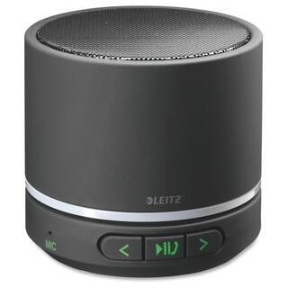 Leitz Speaker System - Portable - Battery Rechargeable - Wireless Speaker(s) - Black - Black|https://ak1.ostkcdn.com/images/products/12251767/P19093218.jpg?impolicy=medium