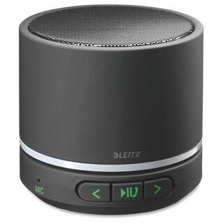 Leitz Speaker System - Portable - Battery Rechargeable - Wireless Speaker(s) - Black - Black