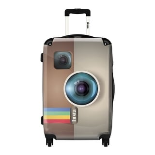 IKase 'Camera Insta' 24-inch Fashion Hardside Spinner Suitcase