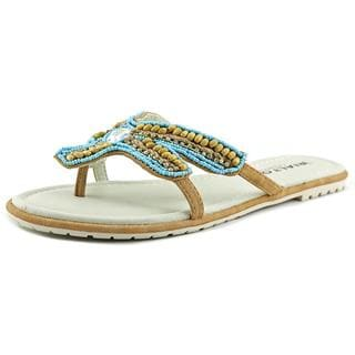 Rialto Women's 'Starfish' Faux Leather Sandals