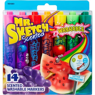 Mr.Sketch Scented Washable Marker Set 14/Pkg
