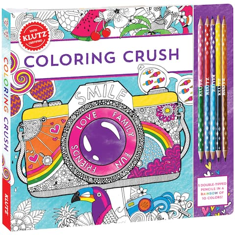Coloring Crush Book Kit