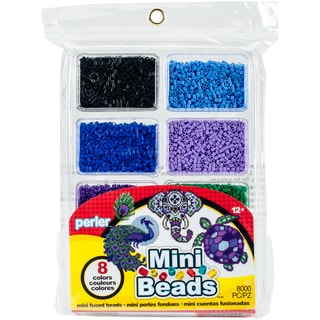 Perler Mini Beads Fused Bead Tray 8,000/Pkg