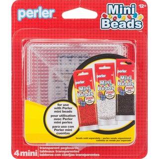 Perler Mini Bead Pegboards 4/Pkg