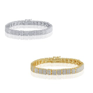 Divina Diamond Accent Fashion Tennis Bracelet (I-J, I2-I3)