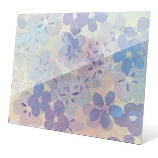'Beaming Blossom Pattern' Wall Graphic on Glass