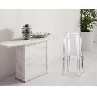 Fine Mod Imports Clear Bar Stool