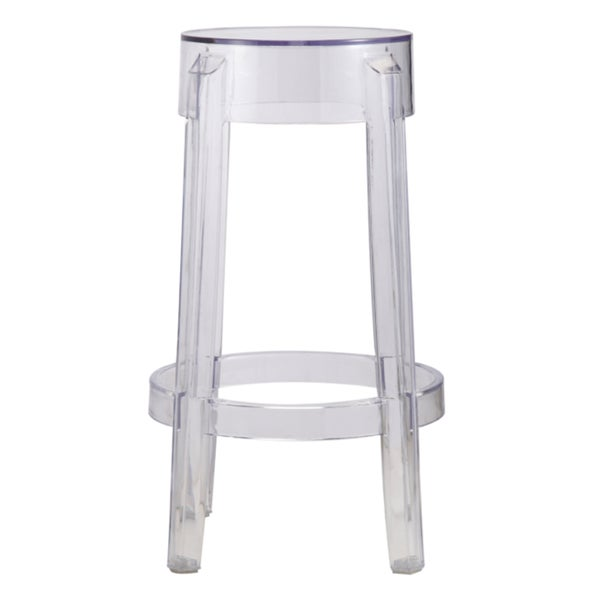 Superieur Fine Mod Imports Clear Counter Stool