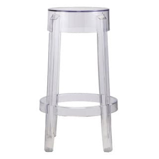 Fine Mod Imports Clear Counter Stool