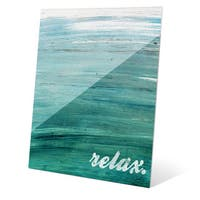'Relax Across' Wall Graphic on Acrylic