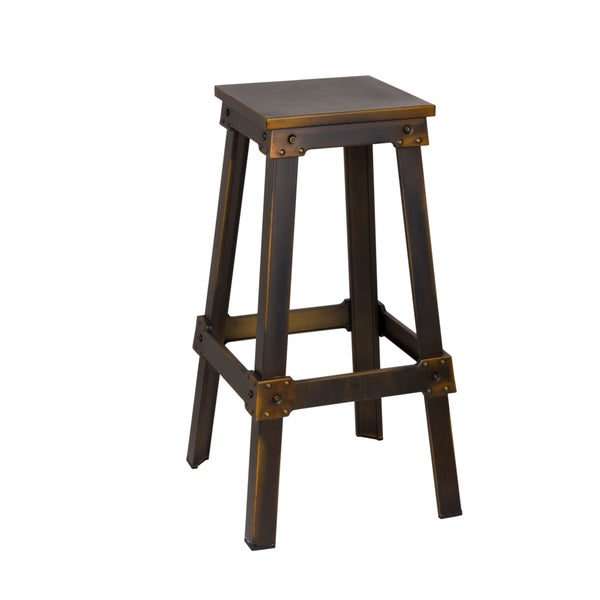 Fine Mod Imports Copper Porch Bar Stool Free Shipping