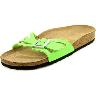Birkenstock Women's 'Molina' Green Synthetic Sandals