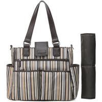 Colorland Brown Diaper Bag Tote