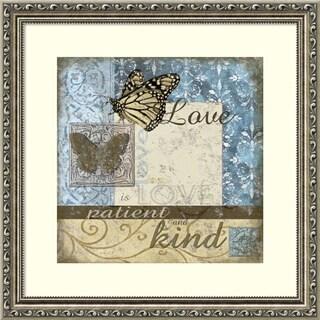 Framed Art Print 'Butterfly II' by Julie Ueland 18 x 18-inch